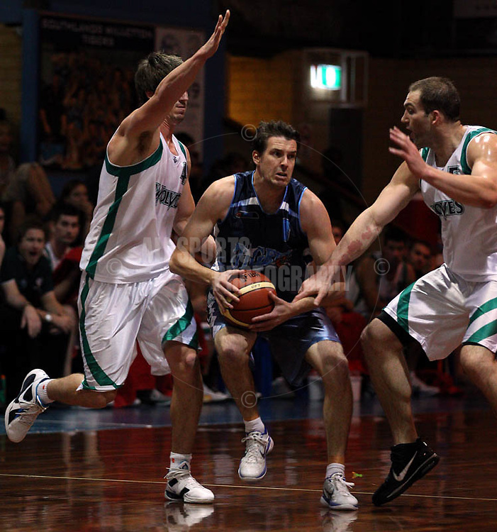 PERTH, AUSTRALIA - APRIL 21:  during the week 6 SBL game between the Willetton TIgers and the Wanneroo Wolves at Willetton Stadium on April 21, 2011 in Perth, Australia.  (Photo by Paul Kane/Allsports Photography)