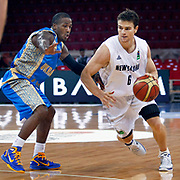 New Zeland's Kirk PENNEY (R) during their Istanbul CUP 2011match played Ukraine between New Zeland at Abdi Ipekci Arena in Istanbul, Turkey on 25 August 2011. Photo by TURKPIX