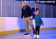Exercise, Father and Daughter Ice Skate, Mechanicsburg, PA