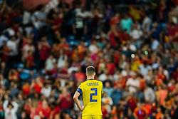 June 10, 2019 - Madrid, SPAIN - 190610 Mikael Lustig of Sweden looks dejected after the UEFA Euro Qualifier football match between Spain and Sweden on June 10, 2019 in Madrid  (Credit Image: © Andreas L Eriksson/Bildbyran via ZUMA Press)