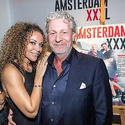 NLD/Amsterdam/20161122 - Lancering XXXL Magazine, Mark Teurlings en partner Yvette
