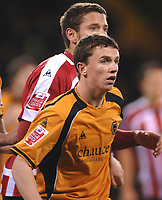 Kevin Foley (Wolves) Sheffield United v Wolverhampton Wanderers 25/11/2008 Credit : Colorsport / Andrew Cowie