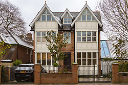 The Chiswick, West London home of Lisa McPartlin (Lisa Armstrong) estranged wife of Ant McPartlin. Ant of TV duo Ant and Dec was arrested on March 18th 2018 on suspicion of drink-driving  following a road accident in Richmond, in which a young girl was hospitalised. London, March 19 2018.