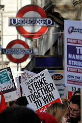 © Licensed to London News Pictures. 30/11/2011, London, UK. . Up to two million public sector workers are staging a strike over pensions in what is set to be the biggest walkout for a generation. Photo credit : Stephen Simpson/LNP