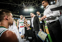 Aleksandar Saso Nikitovic, coach of Petrol Olimpija during basketball match between KK Petrol Olimpija and Promitheas Patras in Round #9 of FIBA Basketball Champions League 2018/19, on December 18, 2018 in Arena Stozice, Ljubljana, Slovenia. Photo by Vid Ponikvar / Sportida