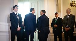 "24.09.2016, Bundeskanzleramt, Wien, AUT, Gipfeltreffen unter dem Titel ""Migration entlang der Balkanroute"", im Bild v.r.n.l. Premierminister Ungarn Viktor Orban und Bundeskanzler Christian Kern (SPÖ) // f.r.t.l. Prime Minister of Hungary Viktor Orban and Federal Chancellor of Austria Christian Kern during ""Migration along the Balkan route"" Summit in Vienna, Austria on 2016/09/24, EXPA Pictures © 2016, PhotoCredit: EXPA/ BKA/ Andy Wenzel <br /> <br /> ***** VOLLSTÄNDIGE COPYRIGHTNENNUNG VERPFLICHTEND // MANDATORY CREDIT *****"