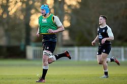 James Scott of England Under 20s - Mandatory by-line: Robbie Stephenson/JMP - 08/01/2019 - RUGBY - Bisham Abbey National Sports Centre - Bisham Village, England - England Under 20s v  - England Under 20s Training