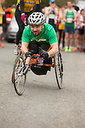 Bohermeen AC 10km & Half Marathon Road Races, 12th March 2016<br /> Disabled athlete Michal Baran pictured at the start of the 10k<br /> Photo: David Mullen /www.cyberimages.net / 2016