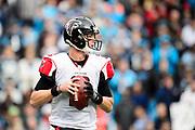 December 24, 2016: Carolina Panthers vs Atlanta Falcons. Matt Ryan