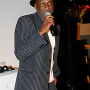 NLD/Amsterdam/20091008 - Designer Vintage for Charity party, Baba Sylla