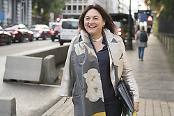September 6, 2017 - Brussels, BELGIUM - Minister of Energy, Environment and Sustainable Development Marie-Christine Marghem arrives for a meeting of the consultative committee with ministers of the Federal government, the regional governments and the community governments, on the stability program, in Brussels, Wednesday 06 September 2017. This meeting with the different governments is called when matters involving multiple levels are discussed. BELGA PHOTO LAURIE DIEFFEMBACQ (Credit Image: © Laurie Dieffembacq/Belga via ZUMA Press)