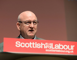 Pictured: Dundee City Council Labour Group leader Councillor Kevin Keenan opened the conference.<br /> <br /> The Scottish Labour Party spring conference opened in Dundee on Friday, where Scottish Labour leader Richard Leonard joined delegates and party activists.<br /> <br /> © Dave Johnston / EEm