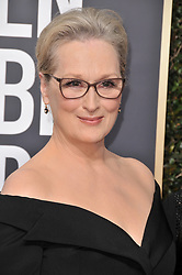 Meryl Streep at the 75th Golden Globe Awards held at the Beverly Hilton in Beverly Hills, CA on January 7, 2018.<br /><br />(Photo by Sthanlee Mirador)