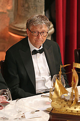 Bill Gates during the Commonwealth Heads of Government banquet at the Guildhall in London, during the Commonwealth Heads of Government Meeting biennial summit.