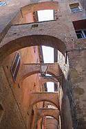Siena - arched passageway