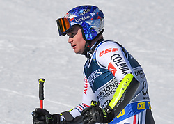 15.02.2021, Cortina, ITA, FIS Weltmeisterschaften Ski Alpin, Alpine Kombination, Herren, Super G, im Bild Alexis Pinturault (FRA) // Alexis Pinturault of France reacts after the Super G competition for the men's alpine combined of FIS Alpine Ski World Championships 2021 in Cortina, Italy on 2021/02/15. EXPA Pictures © 2021, PhotoCredit: EXPA/ Erich Spiess