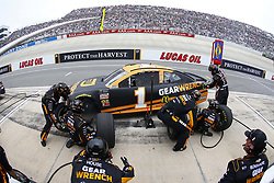 May 6, 2018 - Dover, Delaware, United States of America - Jamie McMurray (1) brings his car down pit road for service during the AAA 400 Drive for Autism at Dover International Speedway in Dover, Delaware. (Credit Image: © Chris Owens Asp Inc/ASP via ZUMA Wire)
