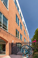 Exterior Photo of Whitman Requardt Office Building in Baltimore MD by Jeffrey Sauers of Commercial Photographics