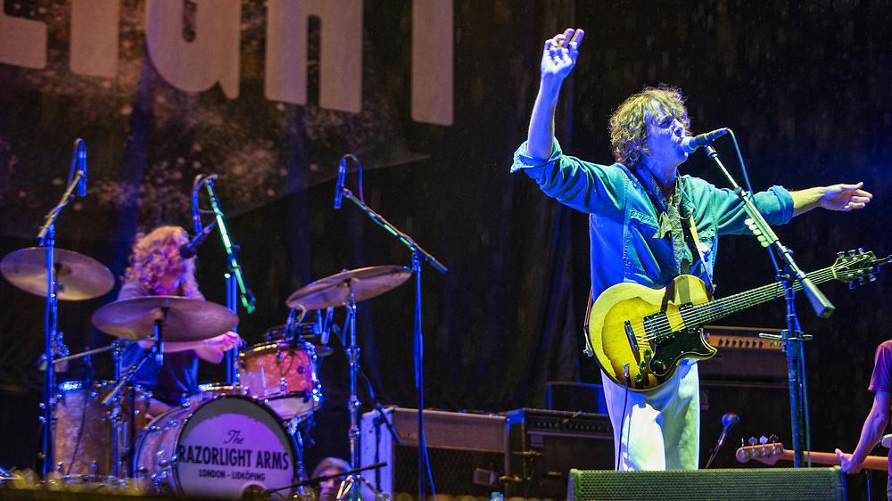 Razorlight at The Playground Festival  Rouken Glen Park, Glasgow, Scotland 26-09-21