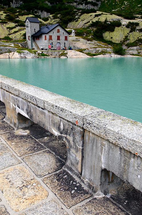 Switzerland - Gelmer lake dam
