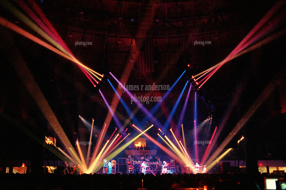 """The Grateful Dead Live at The Hampton Coliseum on 9 October 1989. One of the """"Formerly The Warlocks"""" concerts. Image capture during """"Space"""". Limited Edition Photographic Prints available for purchase in Cart."""