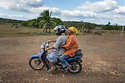Local transportation in the Savannah of Rupununi includes horses, bicycles, as well as, scooter and small motorbike.