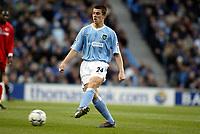Fotball, 30. november 2003, Premier League, Manchester City - Middlesbrough 0-1,  Joey Barton, Manchester City