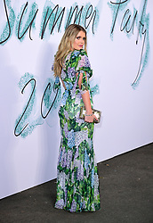 Lady Kitty Spencer attending the Serpentine Summer Party 2017, presented by the Serpentine and Chanel, held at the Serpentine Galleries Pavilion, in Kensington Gardens, London.