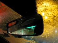 A car rear view mirror
