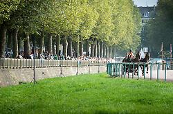 Koos De Ronde, (NED), Bilbo, Palero, Ulano, Zimba, Zimon - Driving Marathon - Alltech FEI World Equestrian Games™ 2014 - Normandy, France.<br /> © Hippo Foto Team - Becky Stroud<br /> 06/09/2014