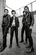 The Clash in Belfast Photosession 1977