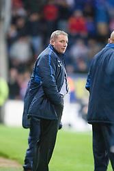 Rangers manager McCoist after Falkirk's third goal..Falkirk 3 v 2 Rangers..©Pic : Michael Schofield.