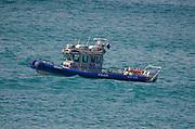 Israeli police boat