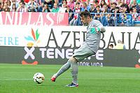 Athletic Club´s goalkeeper Iago Herrerin during 2014-15 La Liga match between Atletico de Madrid and Athletic Club at Vicente Calderon stadium in Madrid, Spain. May 02, 2015. (ALTERPHOTOS/Luis Fernandez)