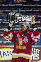 REGINA, SK - MAY 27:  A Acadie-Bathurst Titan at Brandt Centre - Evraz Place on May 27, 2018 in Regina, Canada. (Photo by Marissa Baecker/CHL Images)