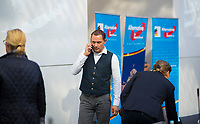 DEU, Deutschland, Germany, Berlin, 25.09.2018: Tino Chrupalla (MdB, AfD, Alternative für Deutschland) bei einer Fraktionssitzung der AfD-Bundestagsfraktion im Deutschen Bundestag.