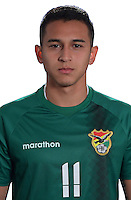 Football Conmebol_Concacaf - <br />Copa America Centenario Usa 2016 - <br />Bolivia National Team - Group D - <br />Bruno Miranda Villagomez