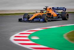 February 19, 2019 - Montmelo, Barcelona, Spain - Barcelona-Catalunya Circuit, Montmelo, Catalonia, Spain - 19/02/2018: Lando Norris of McLaren during second journey of F1 Test Days in Montmelo circuit. (Credit Image: © Javier Martinez De La Puente/SOPA Images via ZUMA Wire)