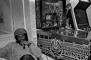 Sly and Robbie at Island Records 1982