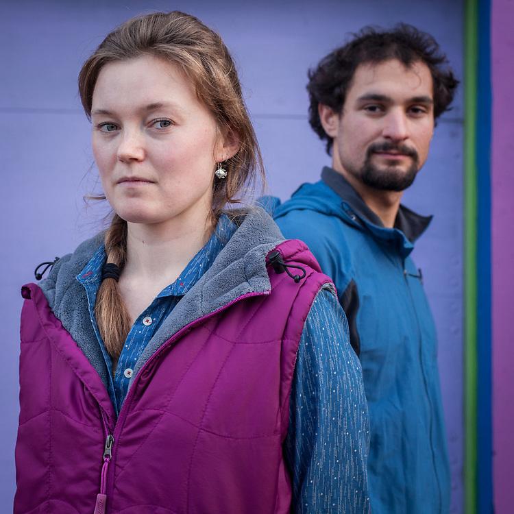 Julia McMahon and Eric Dravsky, Anchorage  mcmahon.julia@gmail.com