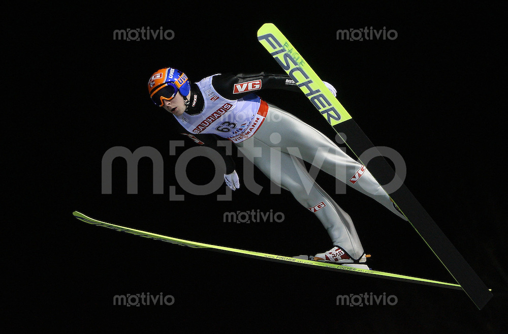 Sapporo , 020307 , Nordische Ski Weltmeisterschaft  Skispringen Kleinschanze Qualifikation , Anders JACOBSEN (NOR)