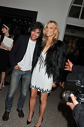 BARRY REIGATE and KIM HERSOV at the Whitechapel Gallery Art Plus Opera gala in association with Swarovski held at the Whitechapel Gallery, London on 15th March 2012.