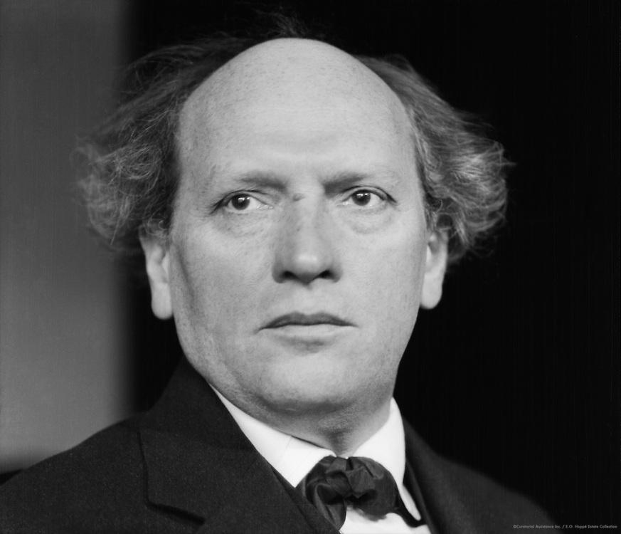 Richard Teschner, artist and puppeteer, 1927