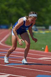 girls 400  meters, start, Maine State Track & FIeld Meet - Class B