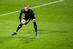 March 23, 2019 - Stockholm, SWEDEN - 190323 goalkeeper Robin Olsen of Sweden during the UEFA Euro Qualifier football match between Sweden and Romania on March 23, 2019 in Stockholm  (Credit Image: © Simon HastegÃ…Rd/Bildbyran via ZUMA Press)