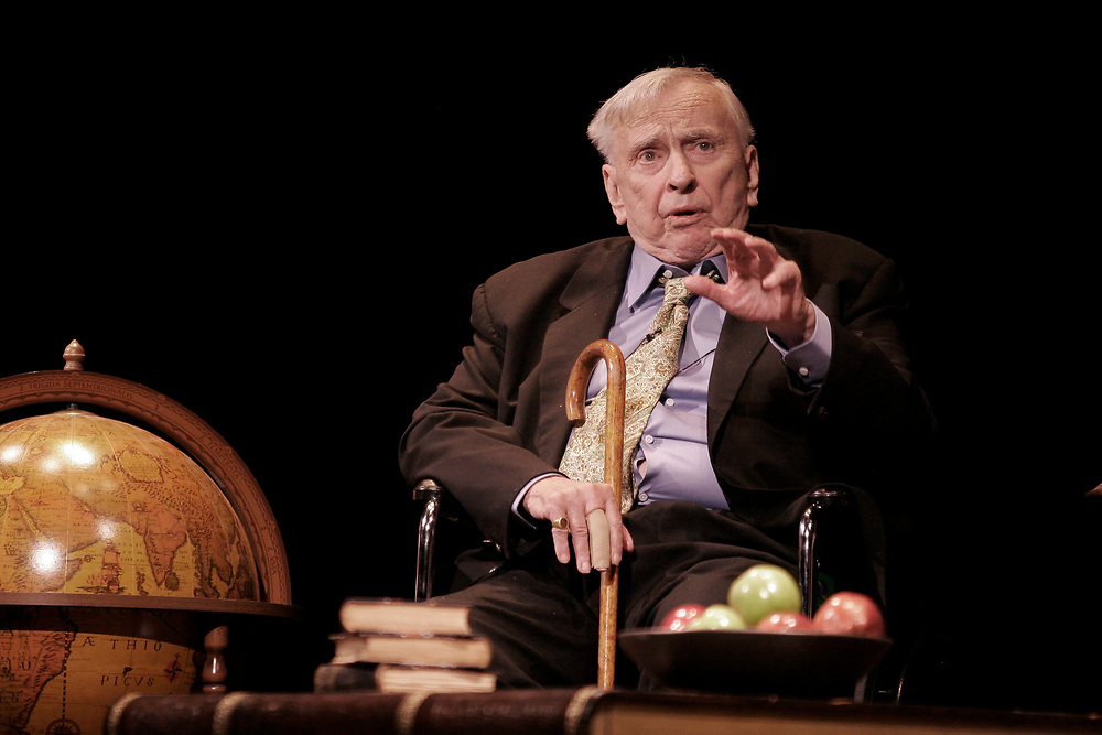 Austin, TX October 28, 2006:  Author Gore Vidal reads from one of his 23 novels at the 11th annual Texas Book Festival. ©Bob Daemmrich