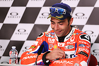 Danilo Petrucci of Italy and OCTO Pramac Racing third, during the press conference after MotoGP Italy Grand Prix 2017 at Autodromo del Mugello, Florence, Italy on 4th June 2017. Photo by Danilo D'Auria.<br /> <br /> Danilo D'Auria/UK Sports Pics Ltd/Alterphotos