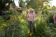 Leah Rodgers, owner of Indigo Gardens flower farm
