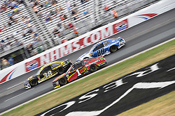 July 22, 2018 - Loudon, New Hampshire, United States of America - Jamie McMurray (1) races off turn four during the Foxwoods Resort Casino 301 at New Hampshire Motor Speedway in Loudon, New Hampshire. (Credit Image: © Stephen A. Arce/ASP via ZUMA Wire)