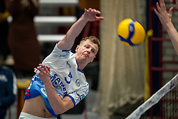 Auke van de Kamp of Lycurgus in action during the league match Taurus - Amysoft Lycurgus on January 16, 2021 in Houten.